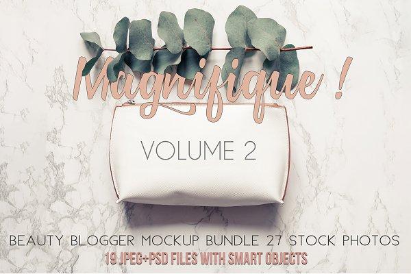 Beauty blogger mockup bundle Vol. 2