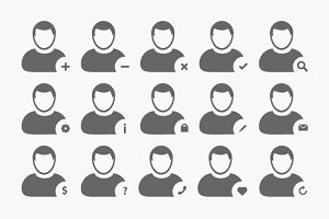 Human, User, Profile Avatar Vector