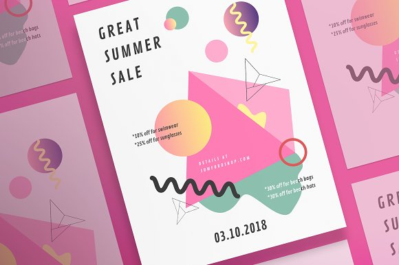 Posters Summer Shop