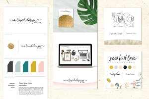 Brand Identity Board + Mini Boards