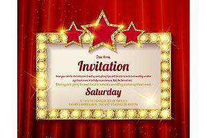 4 Invitation card.