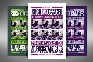 Charity Event Flyer - 2 Sizes!
