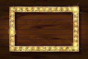 4 gold frames