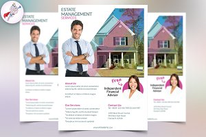 Business Real Estate Flyer v1