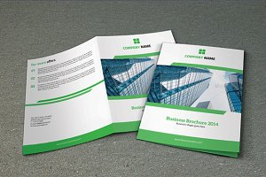 Bifold business brochure-V69