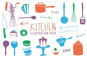 Kitchen Illustration Pack