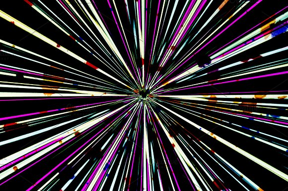 Radial Lines Splatter Background