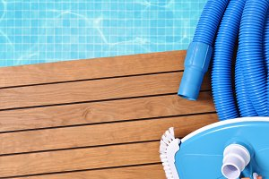Tools for pool top maintenance