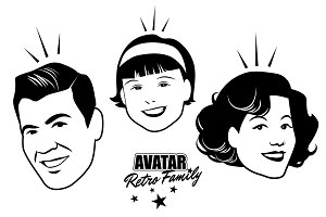 Avatar Retro Family III
