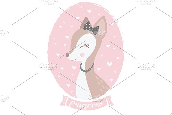 Bambi Vector / Cute Animal