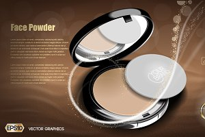 Vector powder and mirror mockup