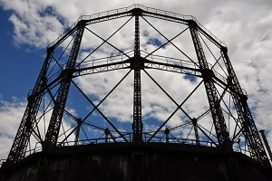 Rusty Gasholder