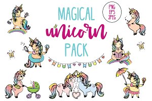 Magical Unicorns Pack
