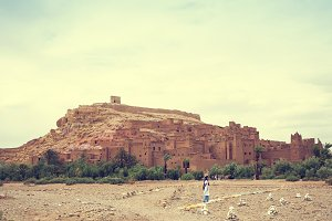 Ait Benhaddou kashbah in Morocco