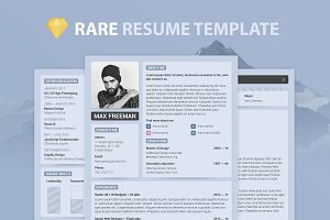 4 in 1 — Resume Template