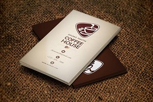 Creative Coffee Business Card