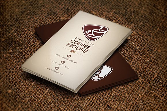 Creative coffee business card graphics creative market colourmoves