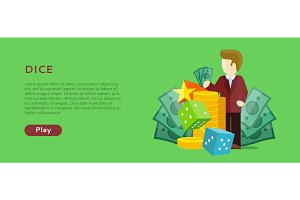 Casino Gambling Website Template