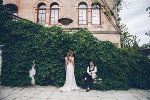 Awesome wedding couple