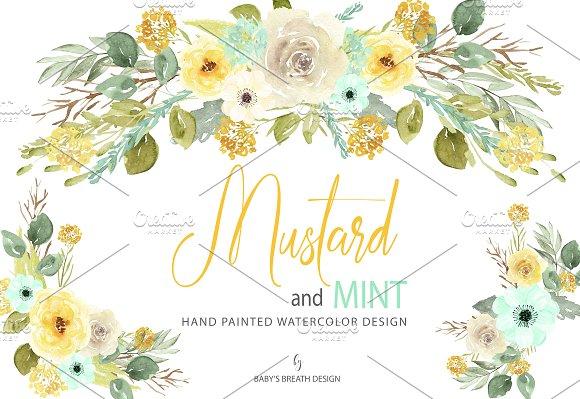 Mustard Splat » Designtube - Creative Design Content