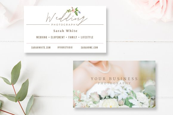 Wedding photographer business card business card templates wedding photographer business card business cards friedricerecipe Images