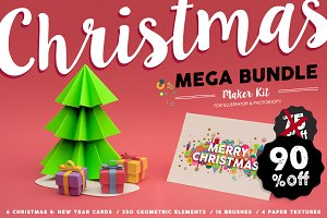 90% OFF: Christmas MEGA BUNDLE Set