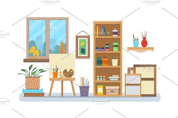 Art Studio Interior