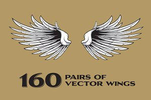 160 Pairs of Vector Wings