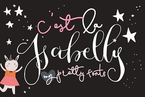 C'est La Isabelly - My Pretty Fonts