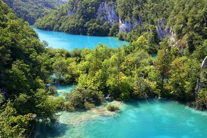 Plitvice lakes. Croatia.
