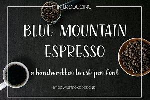 Blue Mountain Espresso Font