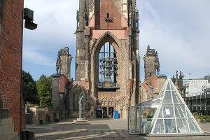 Church of St Nicholas ruins in Hamburg