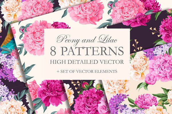 Peony Patterns
