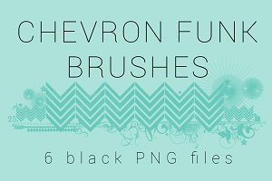 Chevron Funk Brushes