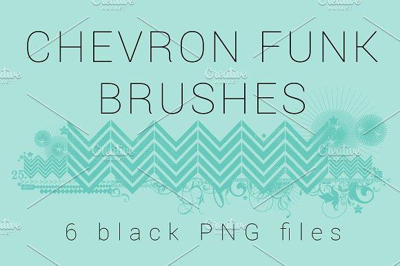 Chevron Funk Brushes