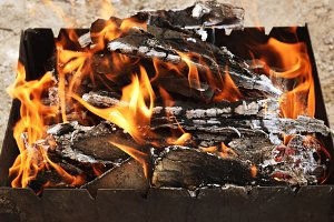 coals for cooking