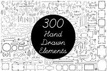 Vector Hand Drawn Elements Vol.2