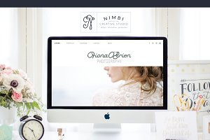 FIONA - Showit5 Site + Blog Template