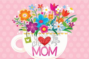 Happy Mother's Day: English/Arabic