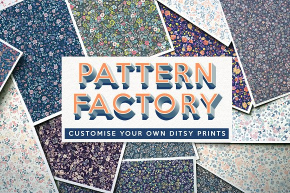 The Pattern Factory - Ditsy-Graphicriver中文最全的素材分享平台