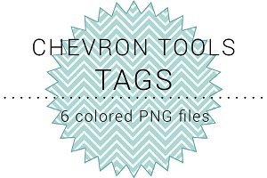 Chevron Tools Tags