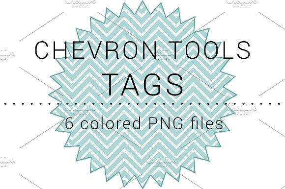 Chevron Tools Tags