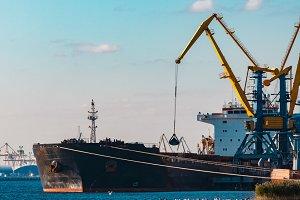 Black bulk carrier