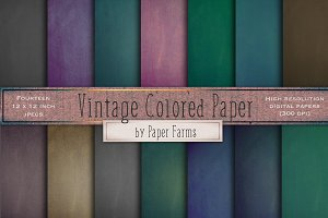 Vintage Colorful Papers