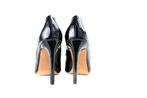 Stylish Black Stiletto Shoes or High Heels