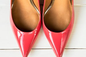 Stylish Pink Stiletto Shoes or High Heels