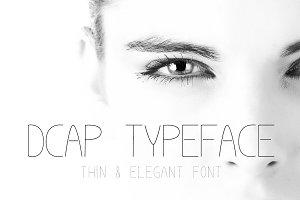 Dcap Typeface