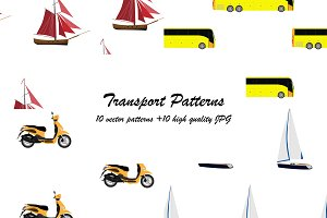 Ten seamless transport pattern