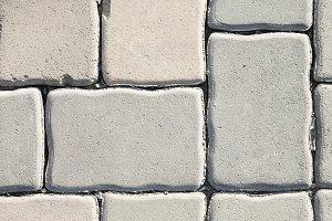texture paving stone sidewalk