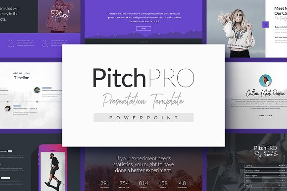 pitchpro powerpoint template presentation templates creative